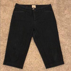 St Johns Bay Women's Jeans Capri